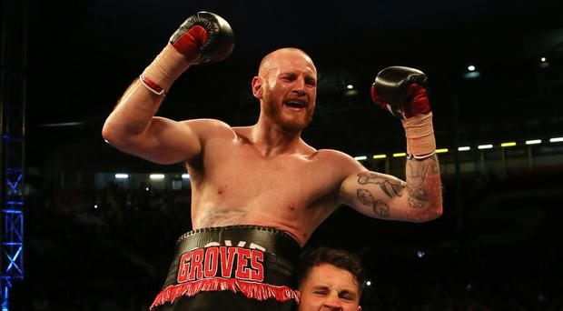 George Groves became world champion at the fourth attempt in 2017 (Richard Sellers/PA)