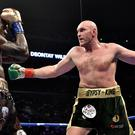 Tyson Fury's anticipated rematch with Deontay Wilder is in doubt after the Briton signed a deal with US broadcaster ESPN (Lionel Hahn/PA)