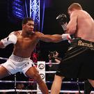 Anthony Joshua overcame Alexander Povetkin in his last bout (Nick Potts/PA)