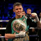 Charlie Edwards defended his flyweight title (Paul Harding/PA)