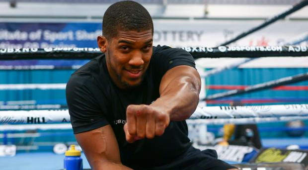 Anthony Joshua will make his US debut on June 1 (Dave Thompson/PA)
