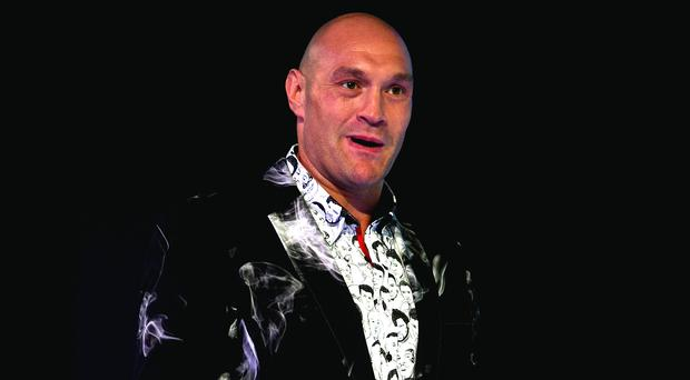 Tyson Fury (pictured) is preparing to next month fight the little-known Tom Schwarz in Las Vegas (Kirsty O'Connor/PA)