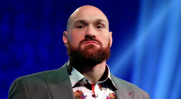 "Tyson Fury claims fellow heavyweight Anthony Joshua is ""finished"" in the sport (Steven Paston/PA)"