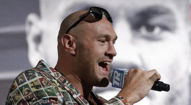 Tyson Fury is concerned about how long he has been out of the ring (John Locher/AP)