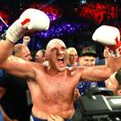 The Gypsy King fulfilled a lifelong ambition of finally fighting in Sin City (Mikey Williams/Top Rank/PA)