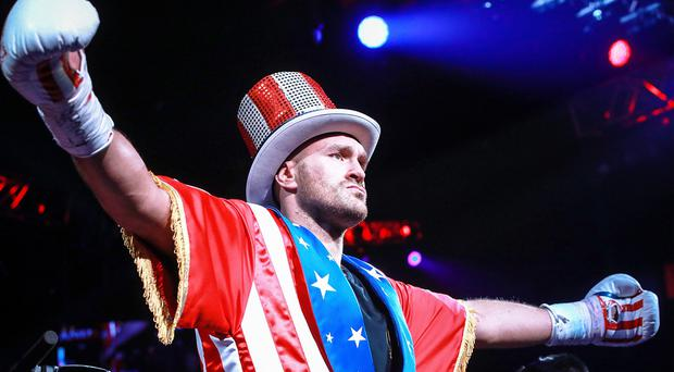 Tyson Fury wants to build on his popularity in America (Matthew Heasley/PA/Top Rank)