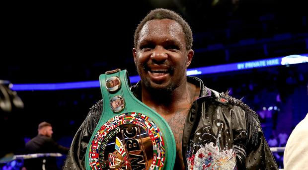 Dillian Whyte has been provisionally suspended (Bradley Collyer/PA)