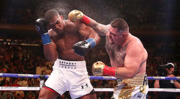 Anthony Joshua will aim to win his world titles back in Saudi Arabia (Nick Potts/PA)