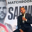Billy Joe Saunders has linked up with Eddie Hearn's Matchroom stable (Yui Mok/PA)