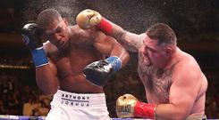 Anthony Joshua is looking for revenge against Andy Ruiz Jr (right) (Nick Potts/PA)