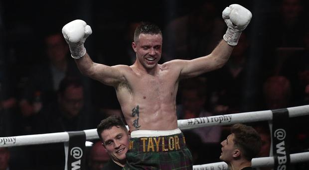 Josh Taylor won the IBF world super-lightweight title in his last fight back in May (Graham Stuart/PA)