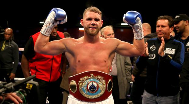 Billy Joe Saunders won his fight in Los Angeles (Paul Harding/PA file photo)