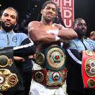 Anthony Joshua claimed victory in Saudi Arabia (Nick Potts/PA)