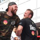 Tyson Fury and trainer Ben Davison are no longer working together (Liam McBurney/PA)