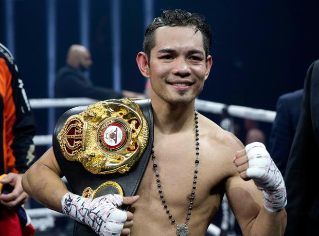 Support: Nonito Donaire is backing Carl Frampton to beat Jamel Herring