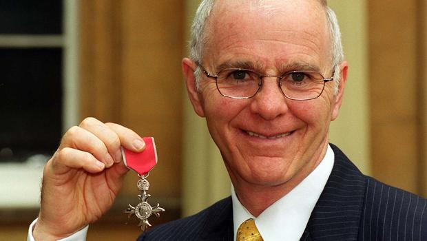 Brendan Ingle with his MBE