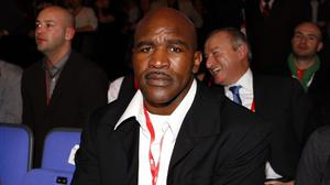 Evander Holyfield won only one fight from of a memorable trilogy against Riddick Bowe (Sean Dempsey/PA)