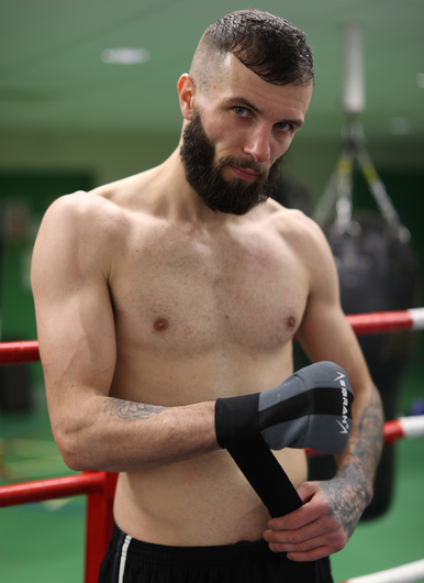 Right road: Anthony Cacace can take the next step on a path to a world title shot