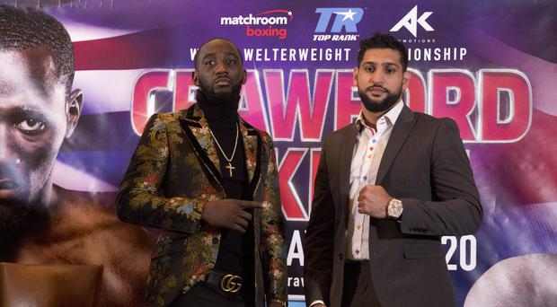 Amir Khan, right, has won his last two fights (Isabel Infantes/PA)