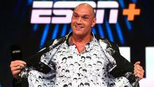 Tyson Fury will look to defend his record of 30 fights and no defeats on February 22 (Kirsty O'Connor/PA)