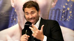 Eddie Hearn is preparing to launch 'Fight Camp' this weekend (Bradley Collyer/PA)