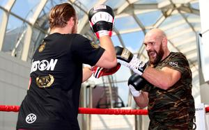 Former Tyson Fury trainer Ben Davison will take charge of Josh Taylor for the first time (Liam McBurney/PA)