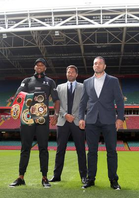 Anthony Joshua was due to fight Kubrat Pulev at the Principality Stadium in 2017 (Nick Potts/PA)