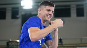 Luke Campbell is in action on Saturday in Dallas (Tess Derry/PA)