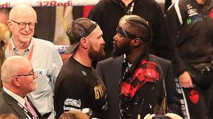 Tyson Fury and Deontay Wilder fight on December 1 (Niall Carson/PA)