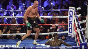 Tyson Fury defeated Deontay Wilder in a stunning performance (Bradley Collyer/PA)