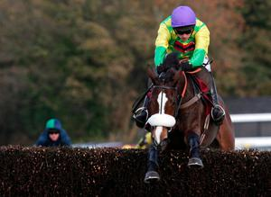 Ruby Walsh jumps the last hurdle on Kauto Star