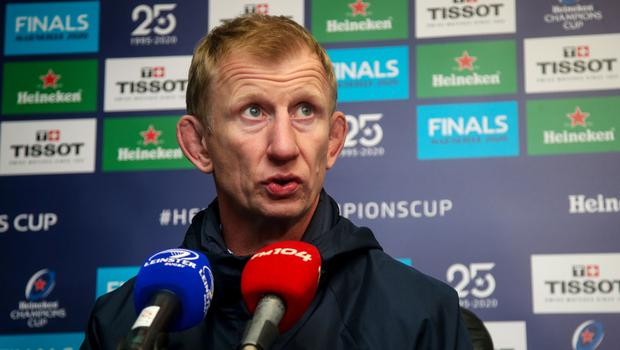Respect: Leo Cullen knows Lyon are a quality side
