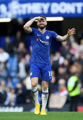 About turn: Olivier Giroud almost left Blues but has signed a new deal