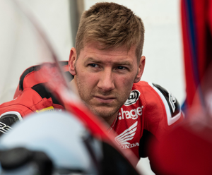 Fired up: Ian Hutchinson says he'll be ready when racing returns