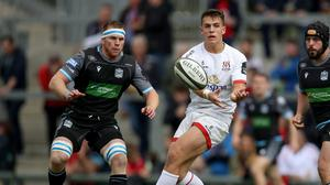 Career trajectory: James Hume is set to make his Champions Cup debut against Toulouse on Sunday