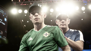 Fight on: Carl Frampton will face Jamel Herring but the details of when and where are as yet uncertain.