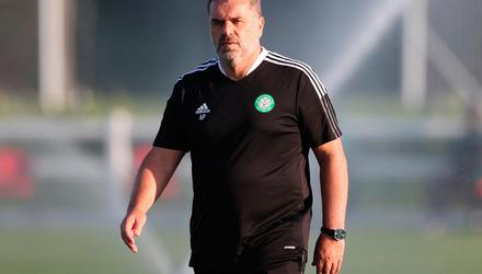 At a loss: Ange Postecoglou has been without some players in pre-season. Credit: Catherine Ivill/Getty Images
