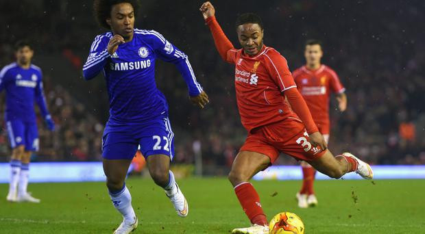 Can he kick it?: Raheem Sterling is a great talent, but his striking of the ball isn't as good as it could be