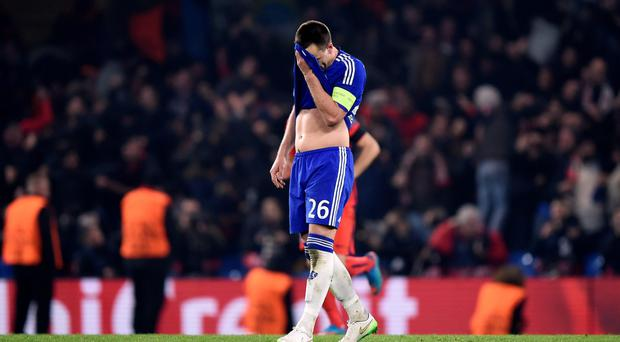 Facing facts: Chelsea captain John Terry knows his side didn't do nearly enough over two the legs against PSG