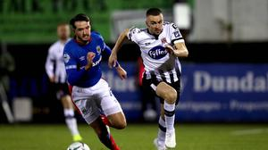 Linfield and Dundalk met last year in a cross-border tie that could become a more regular occurrence.