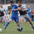 Squeaky bottom: Dungannon and Institute face each other this weekend