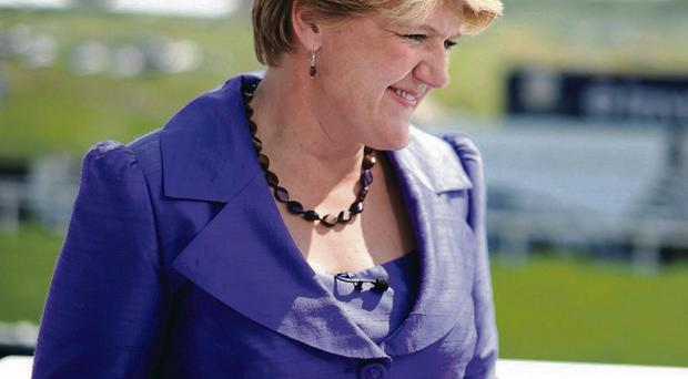 Claire Balding of Channel4 Racing