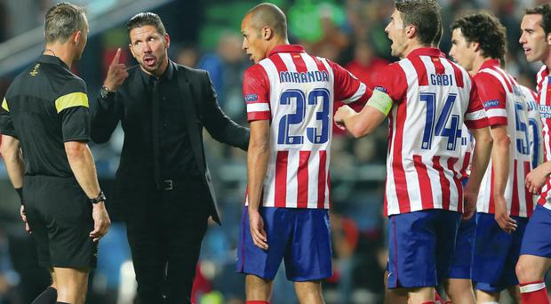 Simeone says: The Give Us A Clue finals in Lisbon take an ugly turn as Diego Simeone has his go