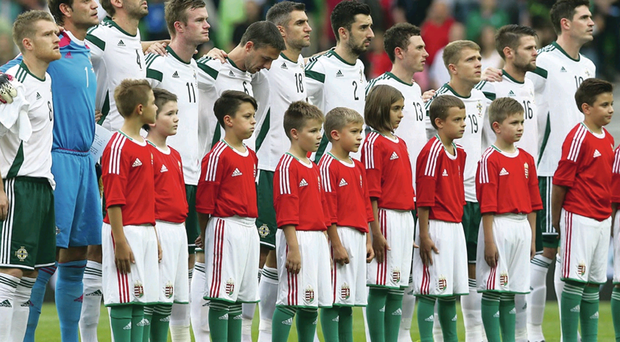 Big time: I'm not saying it was a mis-match in Budapest but that Hungary team isn't a patch on the ones of old. And they're on the small side...