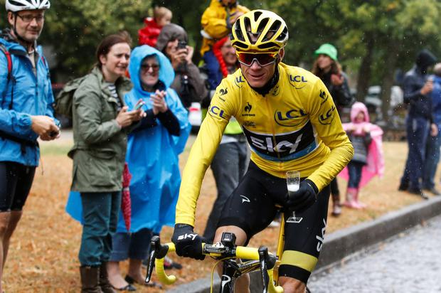 OBE: cyclist Chris Froome