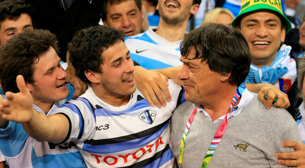 They think it's pull-over: Argentina were full of style and panache, and the rugby was quite snazzy too