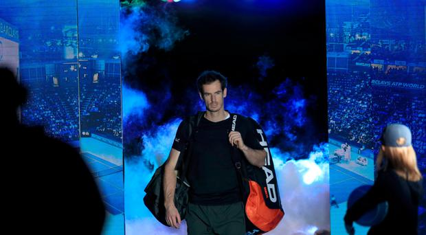 Star man: Andy Murray, World No.1, ATP champion and very much British at the moment