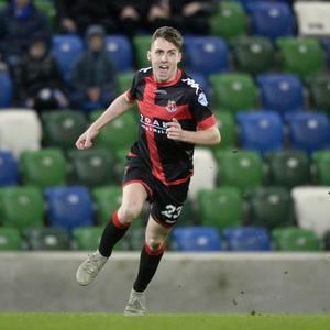 The Whyte stuff: Crusaders' Gavin Whyte has been the star of the season so far