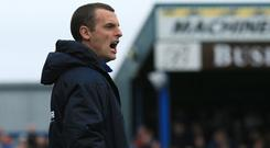 Boss men: Oran Kearney and Stephen Baxter will hope to have the last word on Saturday
