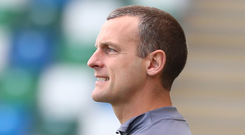 Special OK: Oran Kearney is enjoying life back with the Bannsiders